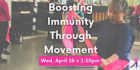 Boosting Immunity Through Movement tickets