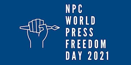 NPC World Press Freedom Day 2021 ingressos