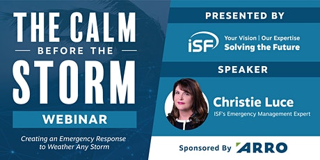 The Calm Before The Storm Webinar, Presented by ISF tickets