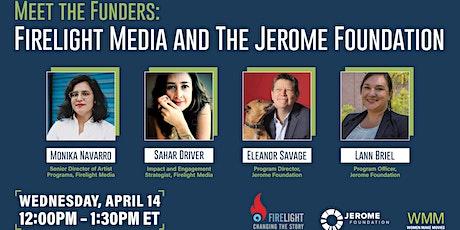 Meet the Funders: Firelight Media & the Jerome Foundation biglietti