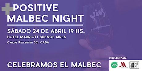 Positive Malbec Night entradas