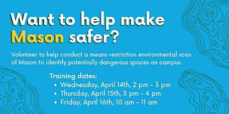 Mason Means Restriction Environmental Scan Training tickets