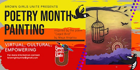 Poetry Month Paint Night tickets