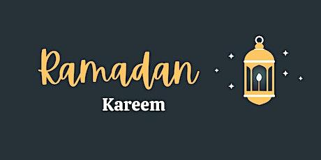 Raindrop Ramadan Dinner: Real Food & Virtual Gathering(April 15 or 17) tickets