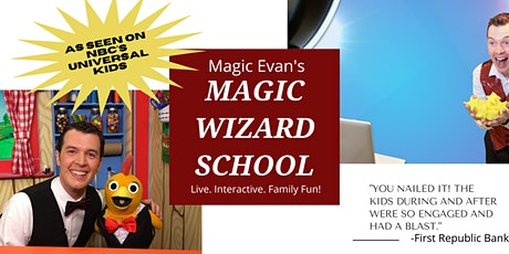 Magic Evan's Virtual Wizard School tickets