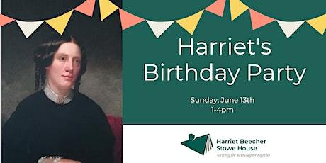 Harriet's Birthday Party tickets