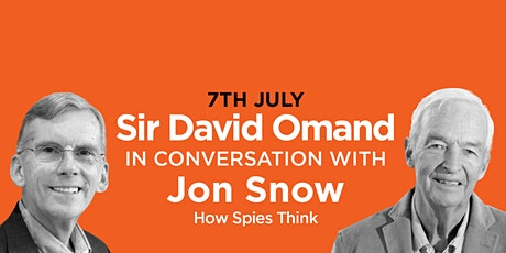 PHLS 2021: David Omand  with John Snow on ' How Spies Think' tickets