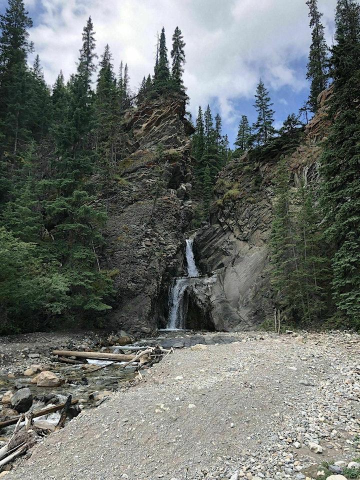 Chasing waterfalls  White Goat falls (Nordegg area) image
