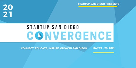 2021 Startup San Diego Convergence billets