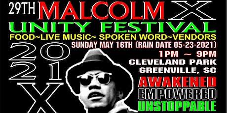 Malcolm X Festival, Greenville, SC tickets