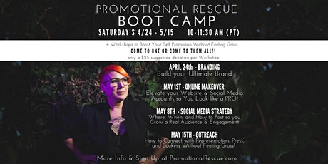 Promotional Rescue Boot Camp (On Zoom) tickets
