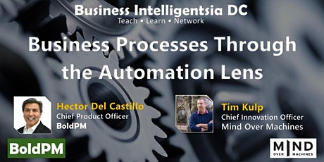 Business Processes Through the Automation Lens tickets