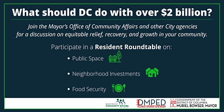 Residents Roundtable: A Discussion on Equitable Relief, Recovery & Growth tickets