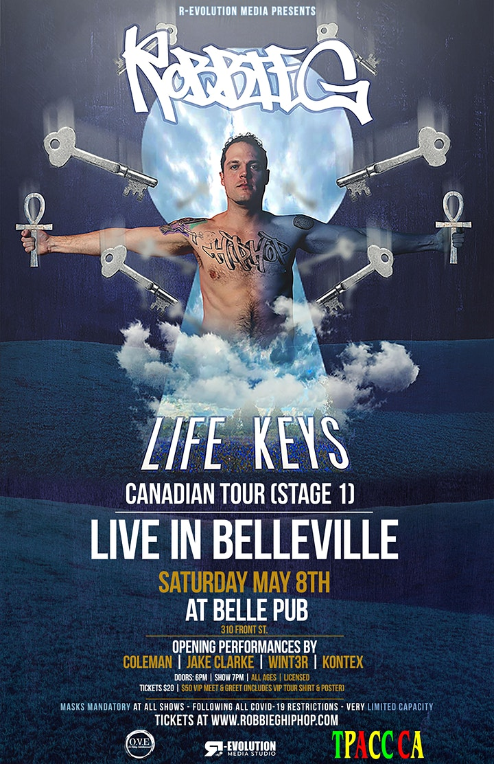 Robbie G live in Belleville May 8th at Belle Pub image