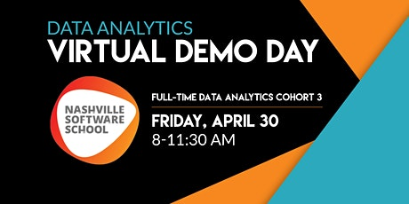 NSS Virtual Demo Day: Data Analytics Full-time Cohort 3 tickets