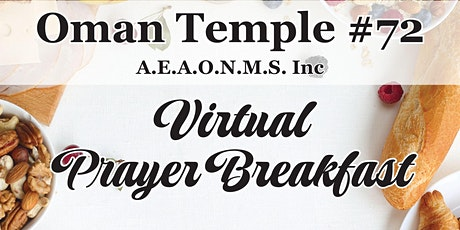 Oman Temple - Virtual Prayer Breakfast tickets