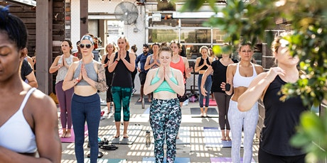 CorePower Rooftop Yoga & Mimosas tickets