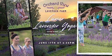 Lunar Lavender Yoga tickets