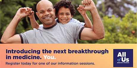 Webinar: Introducing the Next Breakthrough in Health. You. tickets