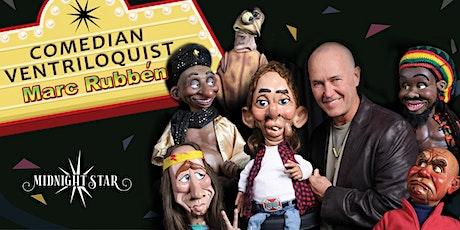 Comedian Ventriloquist Marc Rubben tickets