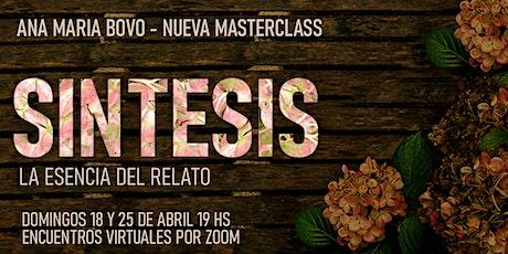 Masterclass: Síntesis tickets