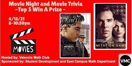 Movie Night and Movie Trivia tickets