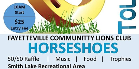 Charity Horseshoe Tournament tickets