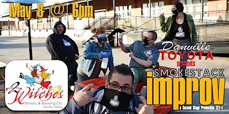 Danville Toyota presents Smokestack Improv tickets