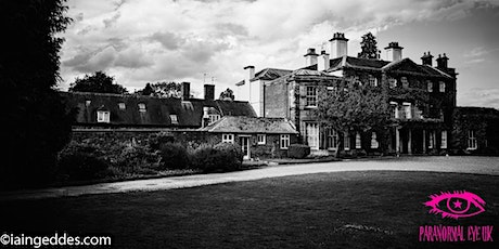 Friday 13th Bishton Hall Stafford Ghost Hunt Paranormal Eye UK tickets