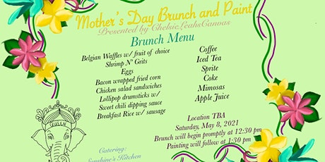 Brunch and Paint tickets