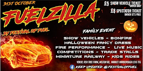 FUELZILLA BY FESTIVAL OF FUEL tickets