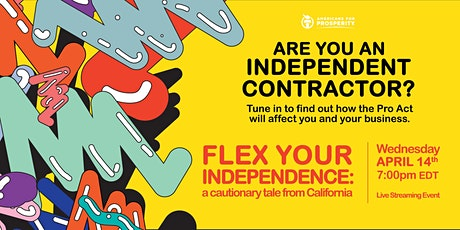Flex Your Independence: A Cautionary Tale from California tickets