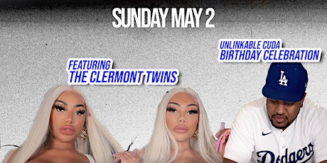 Unlinkable Cuda Birthday celebration with Clermont twins and friend tickets