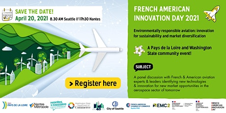 French American Innovation Day 2021: Environmentally Responsible Aviation tickets