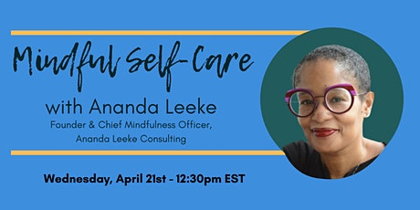 1776 Presents: Mindful Self-Care with Ananda Leeke tickets