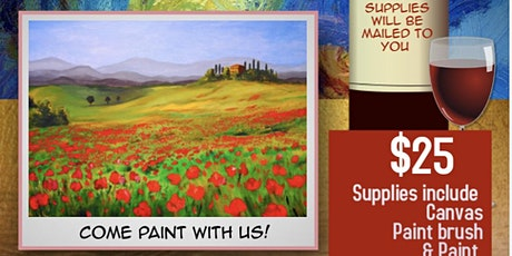Virtual Sip and Paint tickets