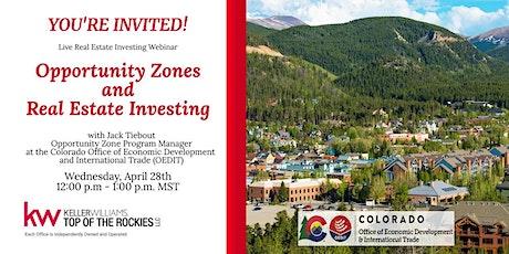 Opportunity Zones and Real Estate Investing biglietti