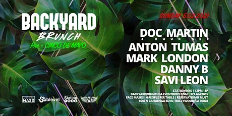 BACKYARD BRUNCH ft DOC MARTIN tickets