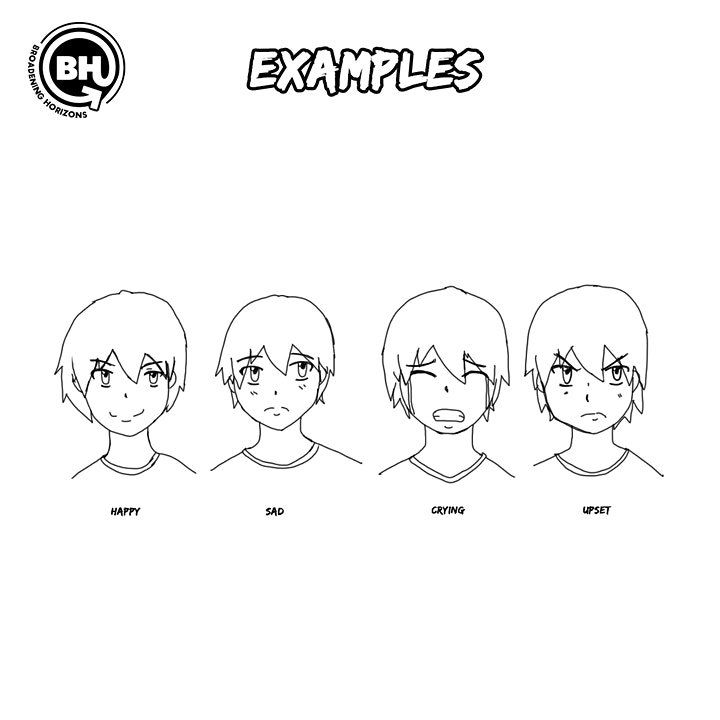 """""""From the Ground Up: Creating your own character (Facial Expressions)"""" image"""