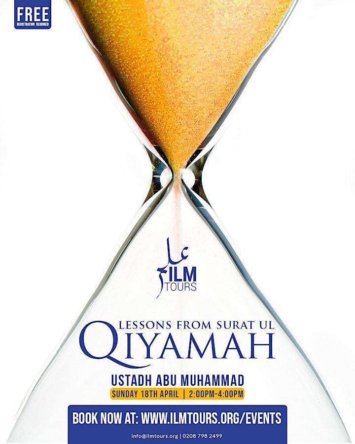 Lessons From Surah al Qiyamah - The Resurrection image