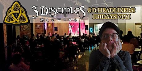 3D Headliners - Funny Fridays With Steve Ausburne! tickets