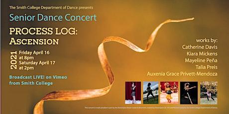 Senior Dance Concert - Process Log: Ascension tickets