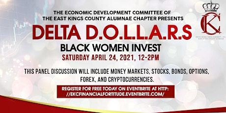 Delta Dollars, Black Women Invest tickets