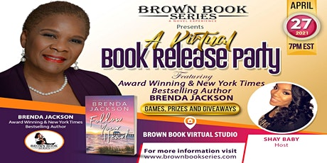 A Virtual Book Release Party with Award Winning Author  Brenda Jackson tickets