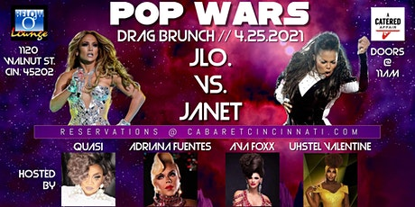 POP WARS Drag Brunch: JLo VS. Janet! tickets