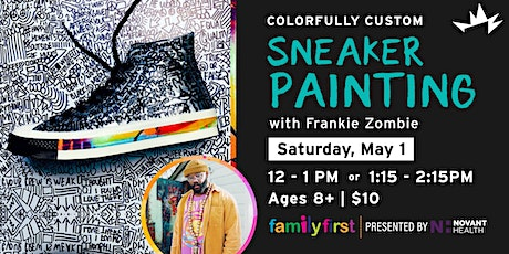 Family First: Colorfully Custom - Sneaker Painting tickets