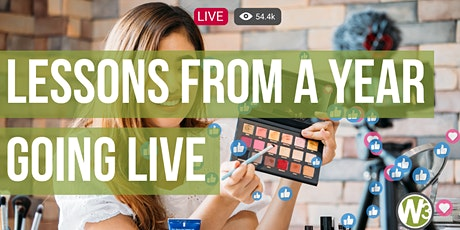 Lessons from a Year Going Live (Web and Beyond Webinars) billets