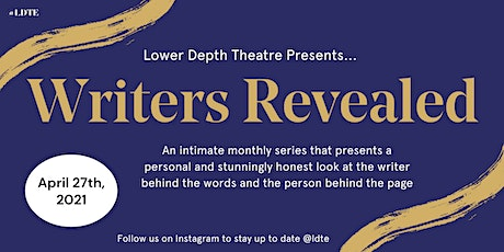 Writers Revealed (April) tickets