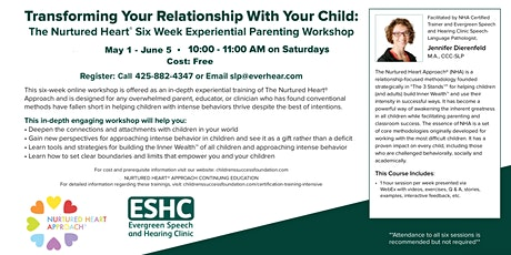 Parenting Workshop: Transforming Your Relationship  With Your Child tickets