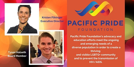 Touchstone Topics:June is  Pride Month with Pacific Pride Foundation tickets